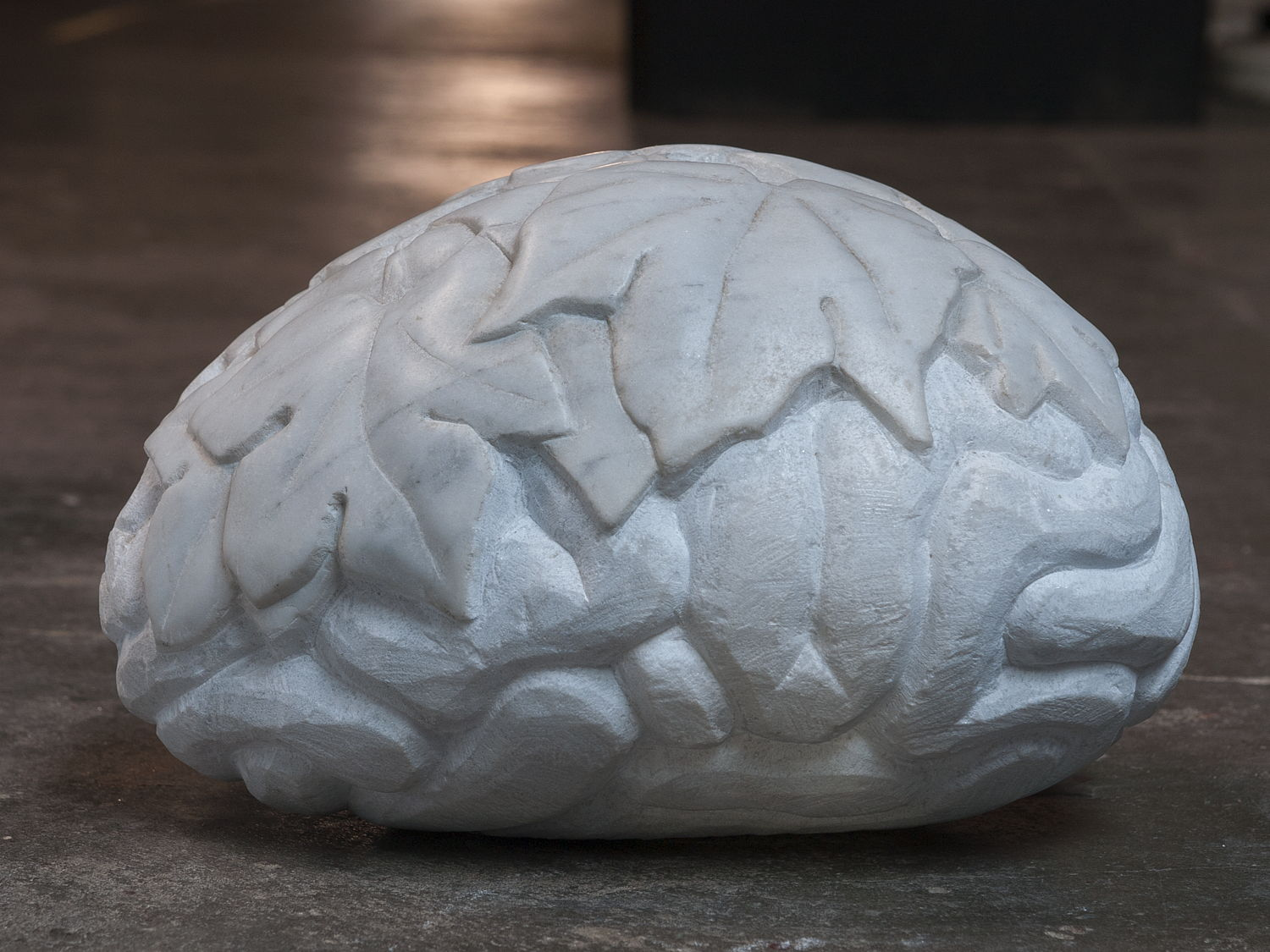 marble brains - marble sculpture